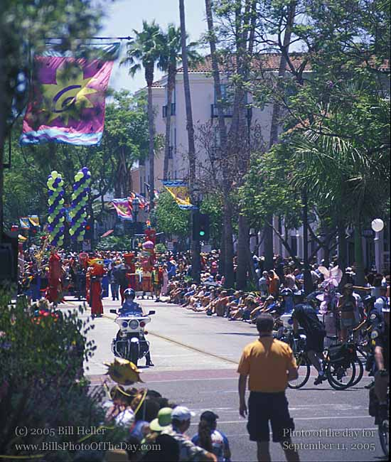 Start of the Summer Solstice Parade