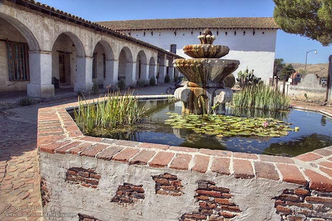 Fountain at the Mission San Miguel
