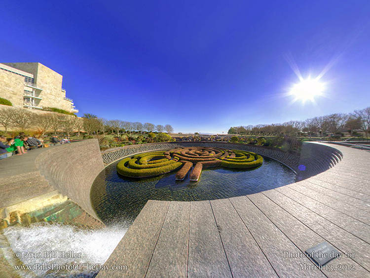 The Getty Center, Los Angeles, Calfornia