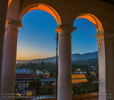 Monday, July 27, 2015 - Evening Arches in the Clock Tower
